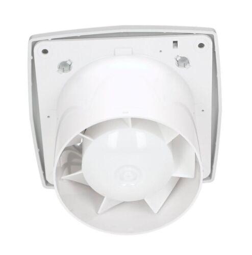 Ventilatore Estrattore Bagno in raso 125mm con timer e sensore di umidità Ventilatore