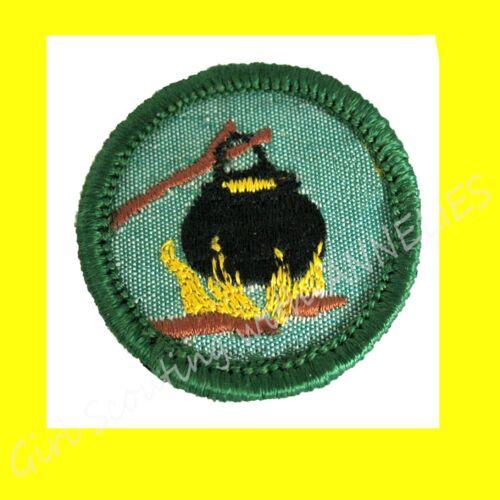 OUTDOOR COOK 1960s Girl Scout Intermediate Badge Dutch Oven Multi=1 Ship Chg