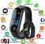 Smart-Band-Watch-Bracelet-Wristband-Fitness-Tracker-Blood-Pressure-HeartRate-M3-lt thumbnail 1