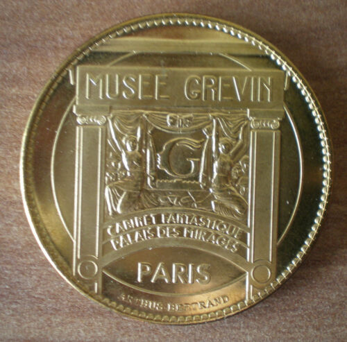Shah Rukh Khan Medal Museum Wax Grevin Paris France Free Shipping Wordwide