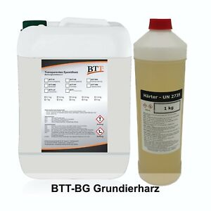 BTT-BG Grundierharz 1,5kg, 2K Epoxidharz Grundierung