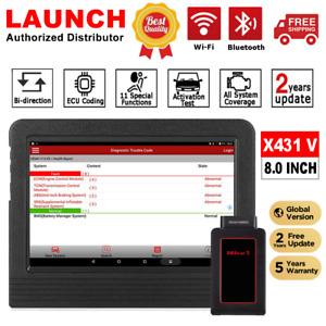 LAUNCH X431 V Pro OBD2 Scanpad Bidirectional Active Test Car Diagnostic Tool