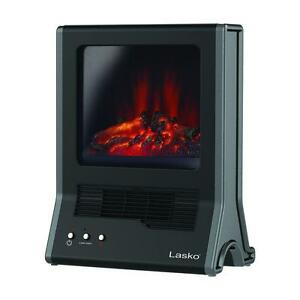 electric fireplace space heater portable small ceramic home room rh ebay com