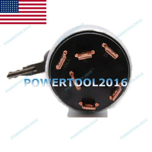 307C 318BL USA 7Y-3918 7Y3918 IGNITION SWITCH 6 lines for CAT Caterpillar E70B