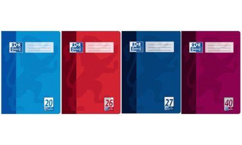 Oxford Schulheft Lineatur 27 // liniert 32 Blatt DIN A4