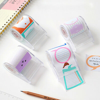 Colorful Sticky Notes Sticker Bookmark Memo Flags Marker Index Pad Tab
