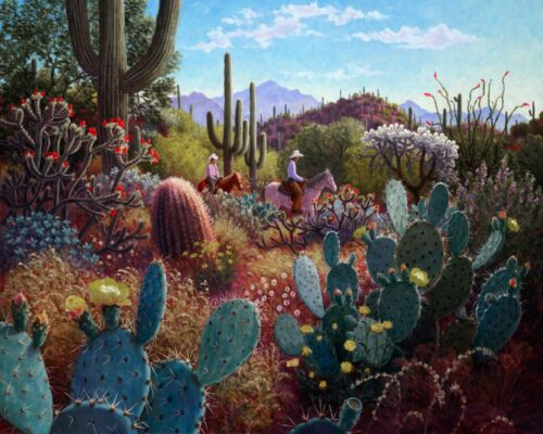 """open ed 12/""""h x 16/""""w image Stephen Morath /""""Turquoise Afternoon/"""""""