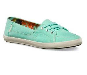 df5ab61ff28260 VANS Palisades Vulc (Washed Canvas) Beach Glass Casual Shoes WOMEN S ...