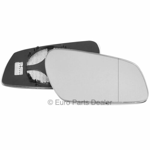 Right side Clip Heated Wide Angle wing mirror glass for Ford Focus C Max 03-07