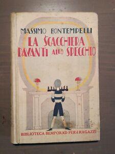 La Scacchiera Davanti Allo Specchio.Dettagli Su Massimo Bontempelli La Scacchiera Davanti Allo Specchio Bemporad 1922 Tofano Sto