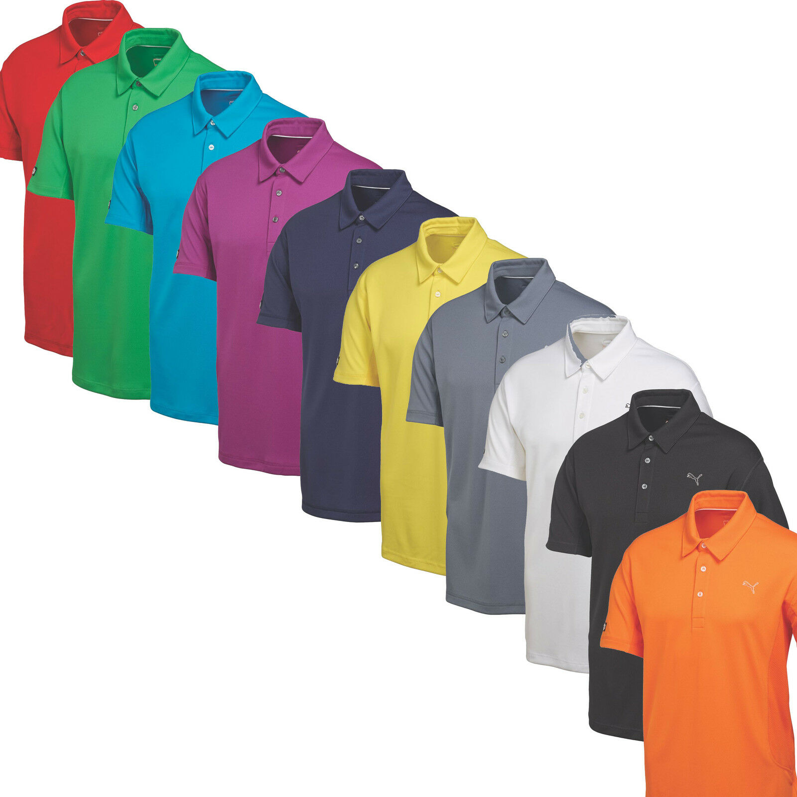 Puma Golf Tech Polo Golf Shirt