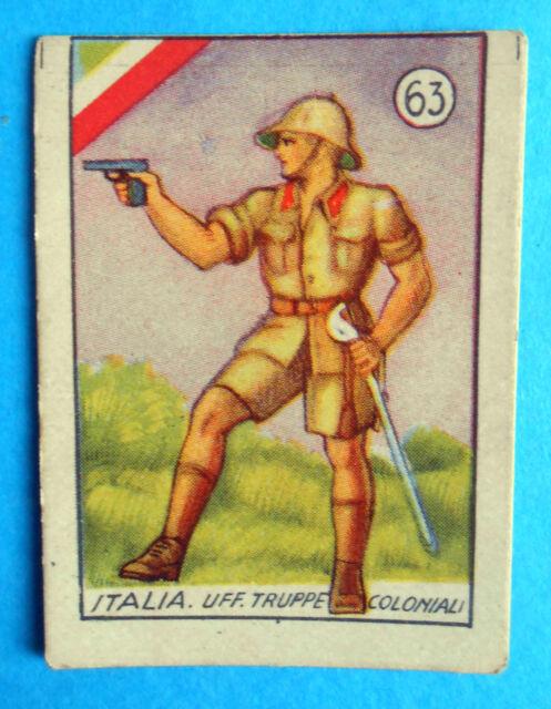 figurines cromos figuren figurine v.a.v. vav la guerra nostra 63 italia colonie