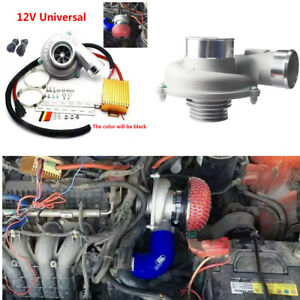 Image Is Loading Universal Car Suv Electric Turbo Supercharger Motorcycle