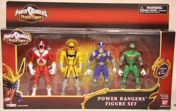 Power Rangers Mystic Force Exclusive 4 Verpackung Lichtspeed Rescue,Ninja Storm (MISP)
