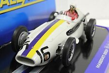 SCALEXTRIC C3403 MASERATI 250F 1957 PESCARA GRAN PRIX BONNIER NEW 1/32 SLOT CAR