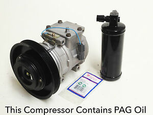 A//C Compressor Kit Fits Honda Accord 1990-1991 2.2L L4 OEM 10PA17C 67300