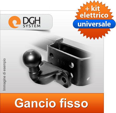 Gancio di traino fisso Iveco Daily Furgone//Cassone 35C//50C 06-13 7poli