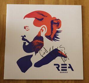 ORIGINAL-Autogramm-von-Rea-Garvey-auf-VINYL-12-034-034-NEON-034-Sehr-selten-Doppel-LP