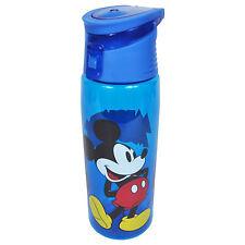 Disney Mickey Mouse Blue Flip Top Water Bottle BPA-FREE 25oz