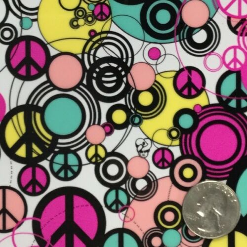PEACE SIGNS HYDROGRAPHIC WATER TRANSFER HYDRO FILM DIP APE