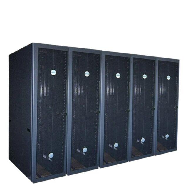 Row of 10 - 42U DELL 4210 Server Rack 19