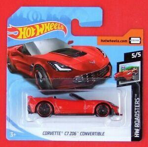 Hot-Wheels-2019-Corvette-c7-Z-06-convertible-95-250-neu-amp-ovp