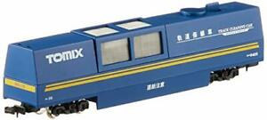 TOMIX-N-Scale-multi-rail-cleaning-car-blue-6425-model-railroad-supplies
