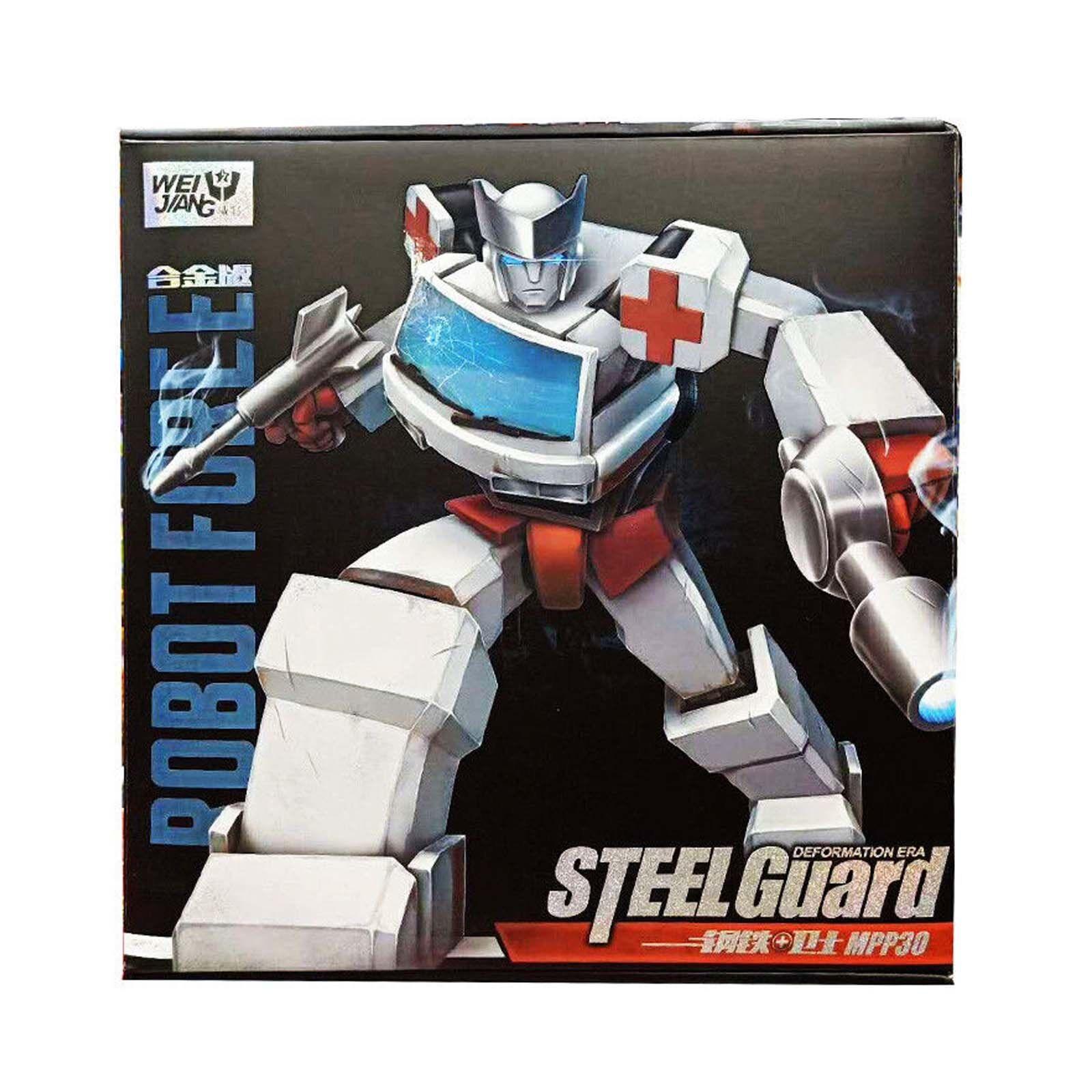 Transformers Weijiang WJ MPP30 robot Fuerza Acero Guardia Regalo Regalo Regalo Niños Juguetes De Colección 0b97e6