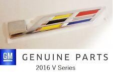 NEW ITEM!! 2016 2017 Cadillac CTS-V SERIES EMBLEM!! GENUINE GM OEM!!
