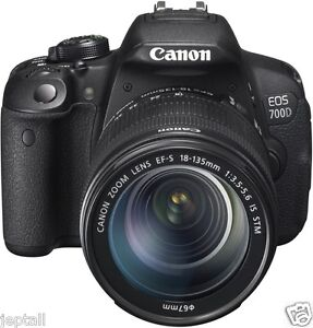"""#Cod Paypal Canon EOS 700D 18-135mm STM 18mp 3"""" DSLR Camera Brand New Jeptall"""