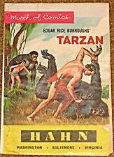 MARCH OF COMICS 262 TARZAN VG RARE GIVEAWAY PROMO 1964 PROMOTIONAL