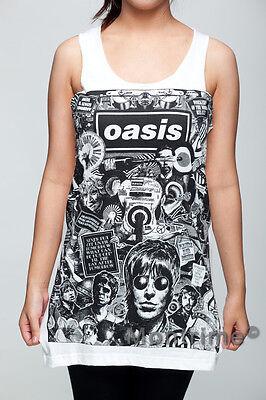 Oasis Vest Tank Top Singlet Dress Sleeveless T-Shirt Mens Womens Ladies