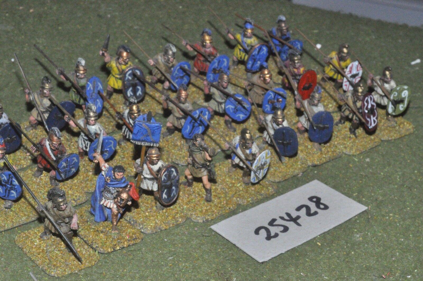 25mm classical   greek - javelinmen 27 figures - inf (25428)
