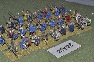 25mm Classique / Grec - Javelots 27 Figures Inf (25428)