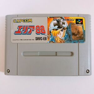 AREA-88-Nintendo-Super-Famicom-SFC-SNES-Japan-game-tested-and-working