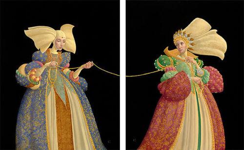 "/""The Tie That Binds/"" James Christensen Limited Edition Fine Art Print"