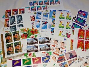 Details about Unused 100 of Multiples & Strips & Singles of 33¢ US PS  Postage Stamps FV $33 00