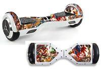 Superhero Sticker/skin Hoverboard / Balance Board Hov33