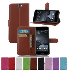 For-Telstra-Signature-Premium-HTC-One-A9-Wallet-Leather-Flip-Stand-Case-Cover