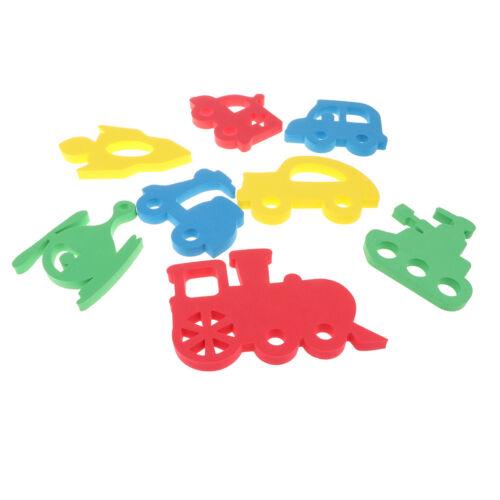 Soft EVA Swimming Bathing Toy Baby Puzzles Foam Floating Toy Vehicle Shape