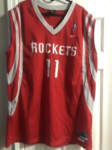 premium selection 853be 01982 Details about Reebok Houston Rockets Yao Ming Jersey Size XL Red Jersey  Adult