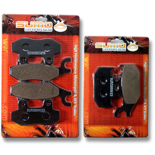 Yamaha FR+R Brake Pads Raptor YFM 700 R 2006 2007 2008 2009 2010 2011 2012 NEW