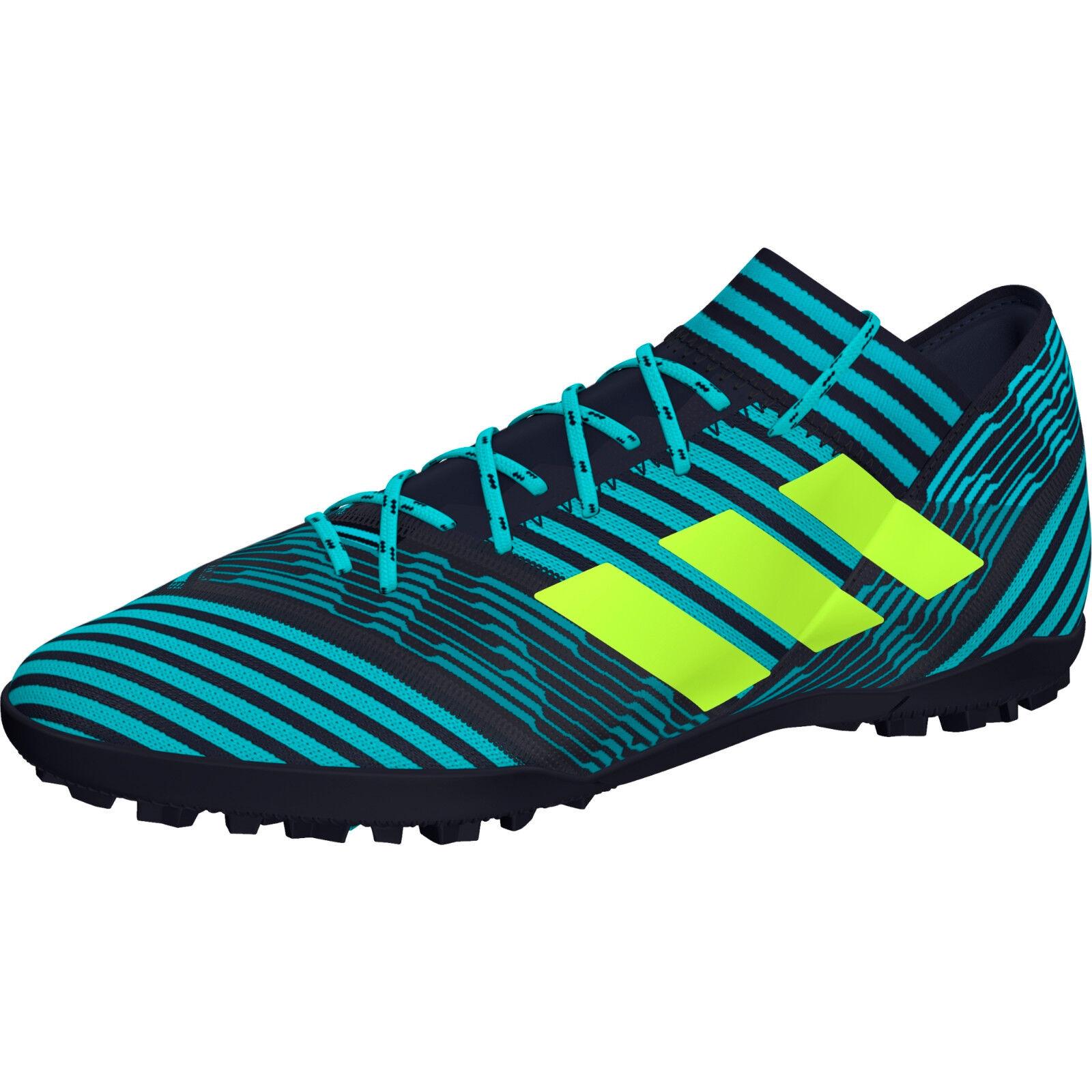 Adidas NEMEZIZ TANGO 17 TF BY2463 scarpa CALCIO CALCETTO Col. Blu legend ink NEW