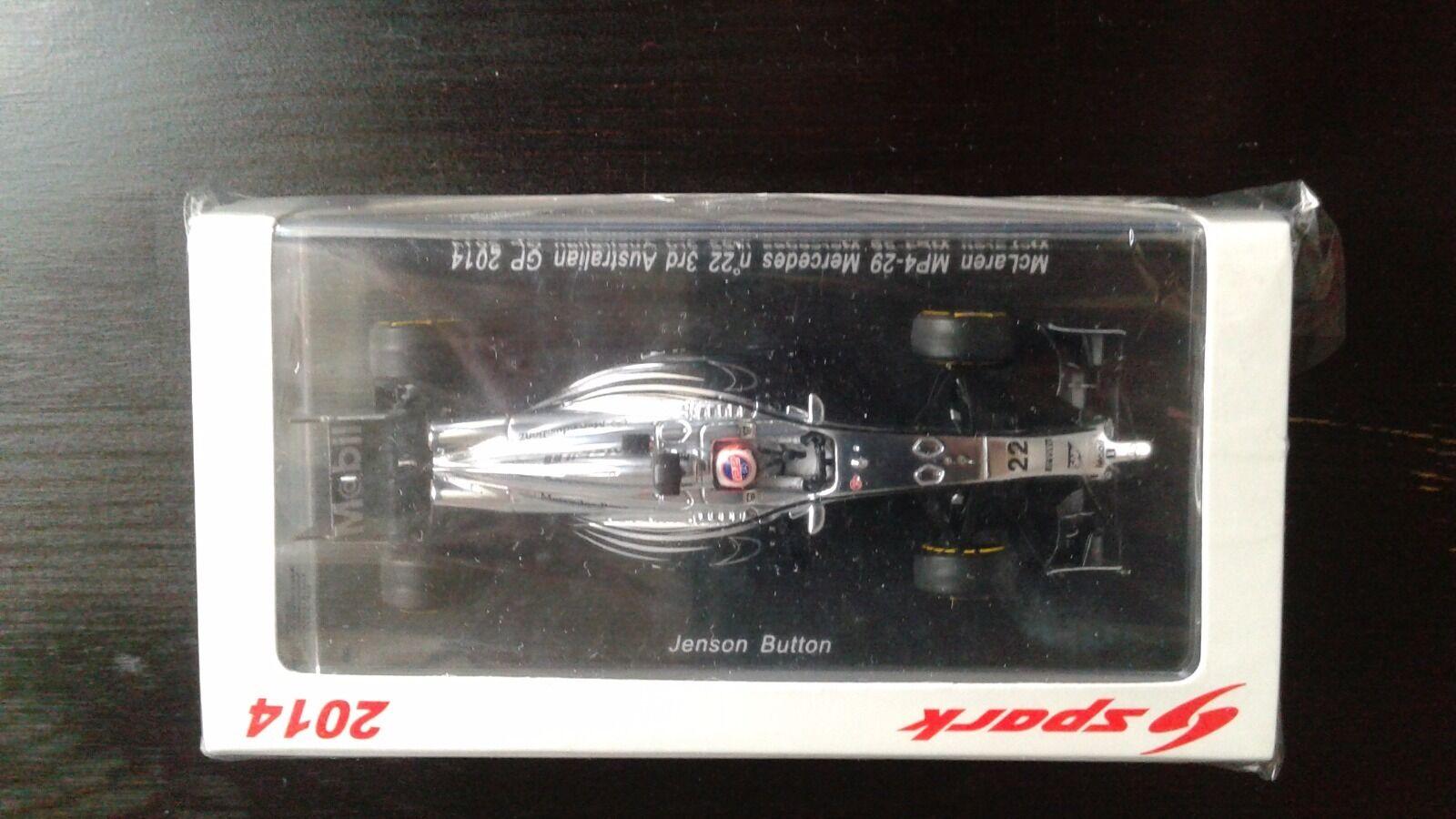 McLaren MP4-29 Mercedes n°22 3rd Australian GP 2014 Jenson Button 1 43
