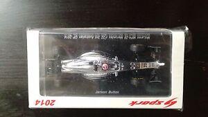 Mclaren Mp4-29 Mercedes N ° 22 3ème Gp Australien 2014 Jenson Button 1/43