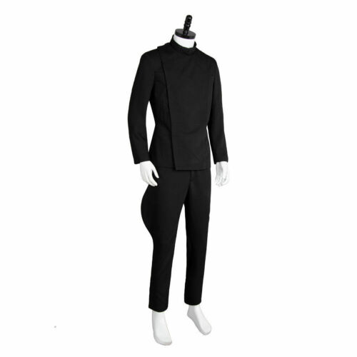 Details about  /Star Wars Imperial Officer Halloween COSplay Costume Outfit Black Uniform A.1089