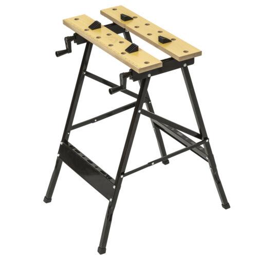 Pliant Etabli Table de travail pliante Pince Workbench ouvrage Vice 70 kg NOUVEAU
