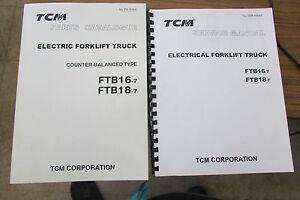 Tcm fork lift parts manual ftb16 7ftb18 7service manual electric image is loading tcm fork lift parts manual ftb16 7 ftb18 fandeluxe Gallery