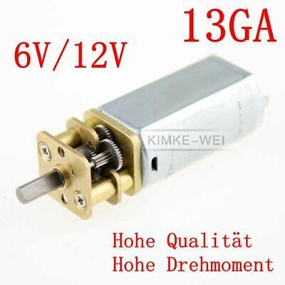 13GA Getriebe Motor elektrisch 12V 110U//min für Modellbau