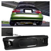 For 92-95 Honda Civic Hatchback Bys Style Carbon Fiber Trunk Lid Eg6 W/ Key Hole